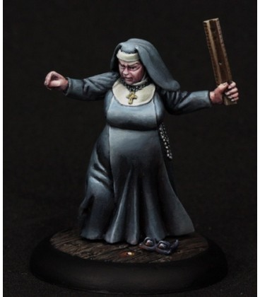 Chronoscope (Mean Streets): Sister Maria, Nun (painted by Angela Imrie)