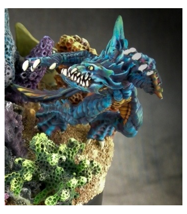 Chronoscope: Sea Creature of Blood Reef (painted by Michael Proctor)