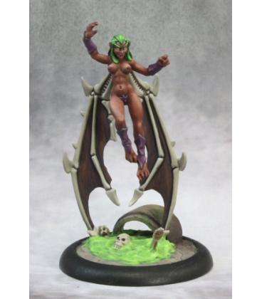 Chronoscope (Super Villains): The Harpy (painted by Rhonda Bender)