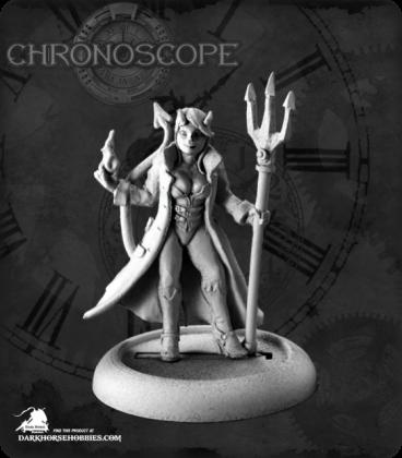 Chronoscope (Super Villains): Devil Girl