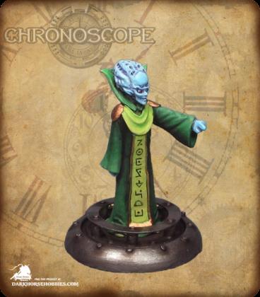 Chronoscope (Alien Worlds): Alien Overlord Boss (painted by Grimvar)