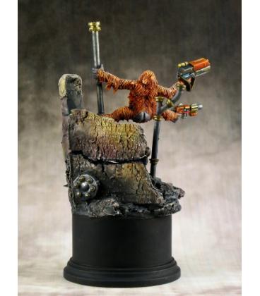 Chronoscope: Orangutango, Cyber-Ape (painted by Michael Proctor)