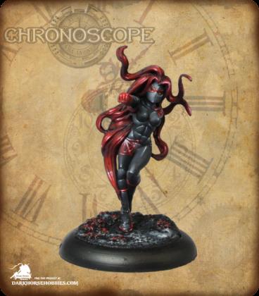 Chronoscope (Super Villains): The Blood Widow (painted by Meg Maples)