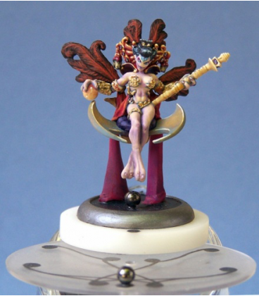 Chronoscope: Empress Messalina IV of the Andromedans (painted by Anne Cooper)