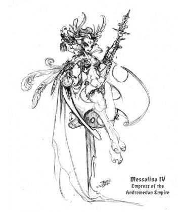 Chronoscope: Empress Messalina IV of the Andromedans (Artwork by Talin)