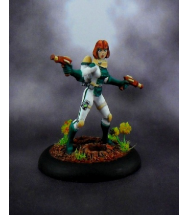 Chronoscope: Dee Dee, Astro Girl (painted by Jim Cook Jr)