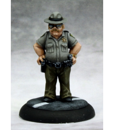 Chronoscope (Mean Streets): Joe Don Mitchell, Sheriff (painted by Martin Jones)