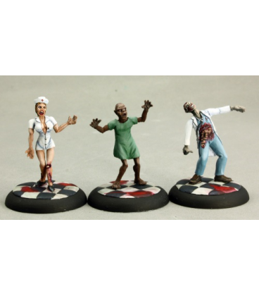 Chronoscope (Survivors): Zombies: Doctor, Nurse, and Patient (painted by Martin Jones)