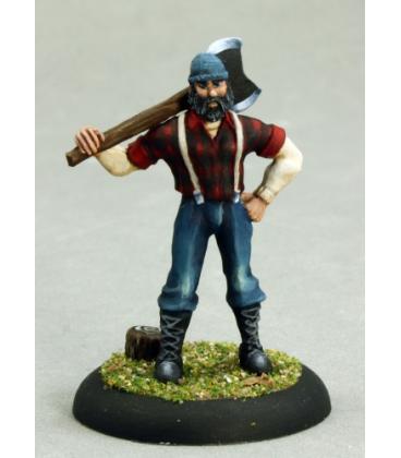 Chronoscope: Bill Foster, Lumberjack (painted by Martin Jones)