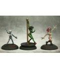 Chronoscope (Alien Worlds): Alien Exotic Dancers Set (painted by Martin Jones)