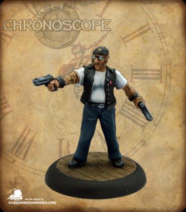 Chronoscope (Mean Streets): Stubbs, Biker Thug (painted by Martin Jones)