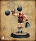Chronoscope: Herq, Circus Strong Man (painted by Martin Jones)