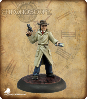 Chronoscope (Pulp Adventures): Max Graves, Pulp Investigator (painted by Martin Jones)