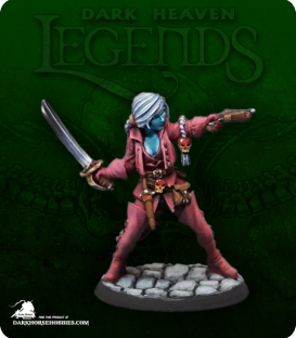 Dark Heaven Legends: Dreadmere - Damaris Walmund, Duskwarden (painted by Geoff Davis)