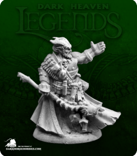 Dark Heaven Legends: Dreadmere - Vatanis, Maggotcrown Necromancer