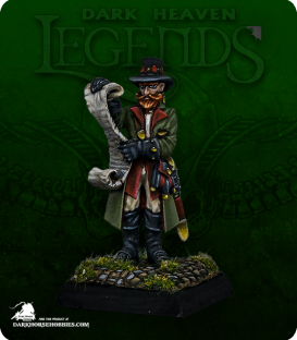 Dark Heaven Legends: Dreadmere - Sheriff Getmose Drumfasser (painted by Anne Foerster)