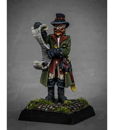 Dark Heaven Legends: Dreadmere - Sheriff Getmose Drumfasser (painted by Anne Foerster)