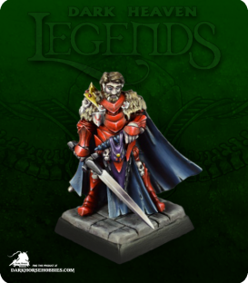 Dark Heaven Legends: Dreadmere - Remus Raducan, Bloodwolf (painted by Jenn Greenwald)
