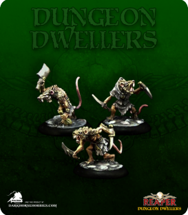 Dungeon Dwellers: Wererats (painted by Michael Proctor)