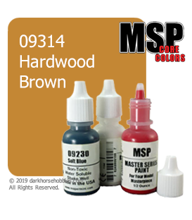 Master Series Paint: Core Colors - 09314 Hardwood Brown (1/2 oz)