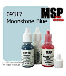 Master Series Paint: Core Colors - 09317 Moonstone Blue (1/2 oz)