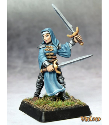 Warlord: Crusaders - Battle Nun Adept (painted by Anne Foerster)