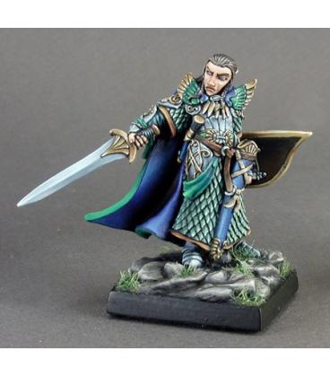 Dark Heaven Legends: Turanil, Elf Paladin (painted by Derek Schubert)