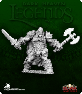 Dark Heaven Legends: Kord the Destroyer, Barbarian