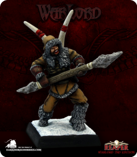 Warlord: Icingstead - Nanoc, Spearmaster (painted by Martin Jones)