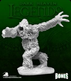Dark Heaven Legends Bones: Yeti Warrior
