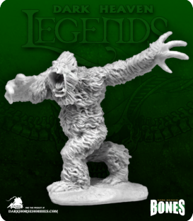 Dark Heaven Legends Bones: Yeti Warrior