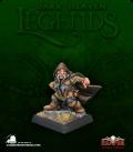 Dark Heaven Legends: Klaus Copperthumb, Dwarf Thief (painted by Kelly Rowe)
