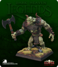 Dark Heaven Legends: Mountain Troll (painted by Michael Genet)