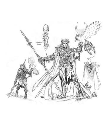 Dark Heaven Legends: King Thelanor Anenfel