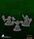 Dark Heaven Bones Black: Bloodstone Gnome Warriors