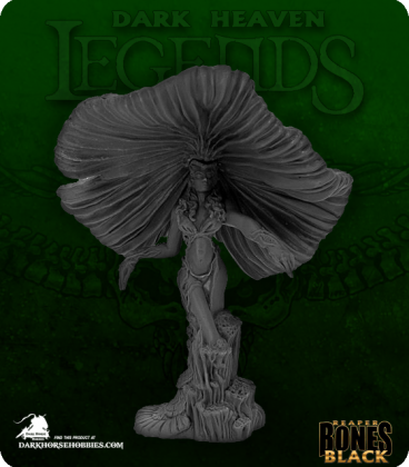 Dark Heaven Bones Black: Fungal Queen