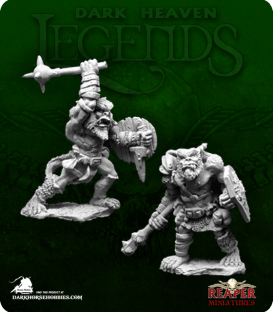 Dark Heaven Legends: Bugbear Warriors