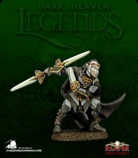 Dark Heaven Legends: Baeldrinahr, Rogue Fighter (painted by Anne Foerster)
