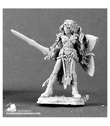 Dark Heaven Legends: Aviriel Tellerion, Elf Paladin