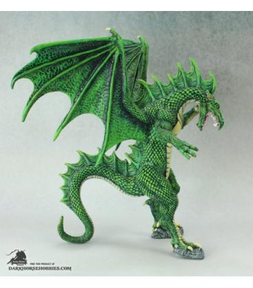 Dark Heaven Legends: Narthalyssk Dragon (painted by Michael Bisignani)