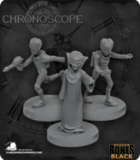 Chronoscope Bones Black: Alien Overlords
