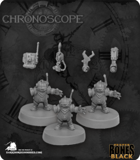 Chronoscope Bones Black: Toolbots