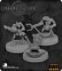 Chronoscope Bones Black: Sliggs and Squarg