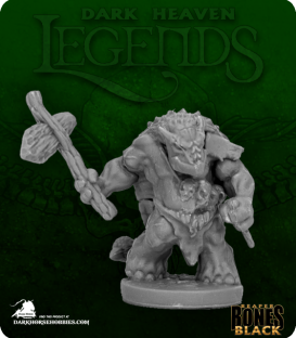 Dark Heaven Bones Black: Armorback Barbarian