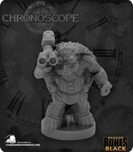 Chronoscope Bones Black: Armorback Demolitionist