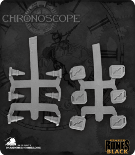 Chronoscope Bones Black: Modern Accessories (Gas Cans & Pylons)