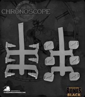 Chronoscope Bones Black: Modern Accessories (Gas Cans & Pylons)