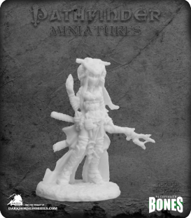 Pathfinder Bones Miniatures: Feiya, Iconic Human Witch