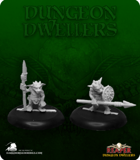 Dungeon Dwellers: Kobold Spearmen