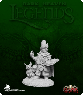 Dark Heaven Legends: Halfling Wizard